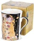 Puodelis arbatai Klimt paveikslo Bučinys motyvais 10x10,5x7,5 cm 130954