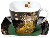 Puodelis kavai 10 cm Klimt Adele Bloch-Bauer 66-884-22-2 Goebel