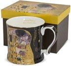 Puodelis Klimt paveikslo Bučinys motyvais 9x12,5x9 cm 128695