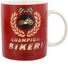 """Puodelis """"Champion Biker"""" H:9 W:12 D:8 cm HM1034"""