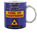 """Puodelis """"King of Everything"""" H:9 W:12 D:8 cm HM1027"""
