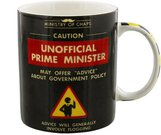 "Puodelis ""Unoffical Prime Minister"" H:9 W:12 D:8 cm HM1028"