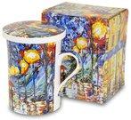 Puodukas arbatai su tapybos darbo pieš. 11x11x8,5 cm 109509