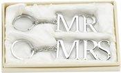 Raktų pakabukai jauniesiems Mr & Mrs WG278 dėžutėje vestuviniai