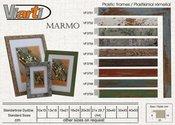 Rėmelis 10x15 plast MARMO VF3756 rudas| 20 mm