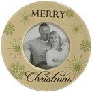 """Rėmelis apvalus """"Merry Christmas"""" 10x10 cm. XM226 keramikinis KLD"""