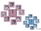 Rėmelis laikrodis KPH 3221 HR XIII rožinis