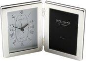 Rėmelis+laikrodis sidabro spalvos 8x13 cm 3501 H:15 W:22 D:3 cm