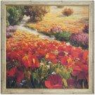 Reprodukcija 1727142 su rėmu 3351 Tulpių laukas 70x70