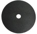 """rubber dekplaat (60 mm) met 3/8"""" uitsparing"""
