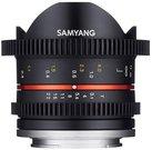 Samyang 8mm T3.1 Cine UMC Fish-Eye II, Fuji X