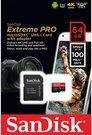 SanDisk microSDXC A1 100MB 64GB Extreme Pro SDSQXCG-064G-GN6MA