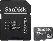 SanDisk MicroSDHC+SD Adapt. 32GB SDSDQM-032G-B35A