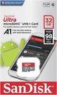 SanDisk Ultra microSDHC 32GB 100MB/s.Adapt.SDSQUAR-032G-GN6MA