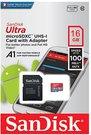 Sandisk ULTRA PLUS microSDHC / microSDXC UHS-I 16GB карты памяти