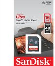 SanDisk Ultra SDHC UHS-I 16GB 48MB/s Cl. 10 SDSDUNB-016G-GN3IN