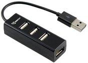 Sbox USB 4 Ports USB HUB H-204 black