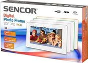 Sencor digital photo frame SDF 740 GY, white/grey