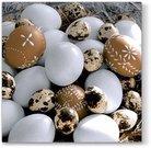 Servetėlės popierinės stalo su kiaušinių piešiniu 33x33cm 116995 velyk