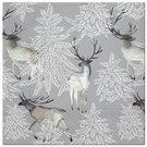 Servetėlės popierinės su elnių piešiniu 33x33 cm 135404 KLD