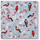 Servetėlės su paukščiukų piešiniu 33 x 33 cm 111530 KLD
