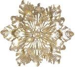 Sienos dekoracija Gėlė auksinės sp. metalinė 54 x 50 x 6 cm 128497