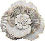 Sienos dekoracija Gėlė sidabro sp. metalinė 6x36x6 cm 126969