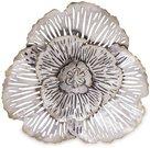 Sienos dekoracija metalinė Gėlės žiedas 27x28,5x5 cm 118741