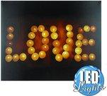 """Sienos dekoracija - nuotrauka ant drobės LED 40x49,5 cm """"Love"""" 60812 psb"""