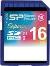 Silicon Power memory card SDHC 16GB Superior