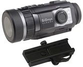SiOnyx Color Night Vision Clip-On Aurora Black with Mount
