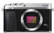 Fujifilm X-E3 body (sidabrinis)