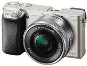Sony a6000 + 16-50mm (Sidabrinis)