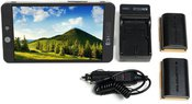 SmallHD 701 Lite HDMI On-Camera + LP-E6 baterijos komplektas