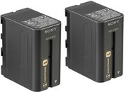 Sony 2NP-F970/B NP F970 Battery Pack (2 pcs)