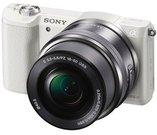 Sony a5100 + 16-50mm (Baltas)