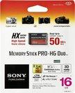 Sony Memory Stick Pro HG Duo HX 16GB Class 4