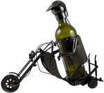 Stovas buteliui metalinis Motociklininkas W111 0.75 L