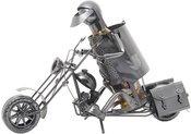 Stovas buteliui metalinis Motociklininkas W99 0.75L