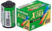 Fotojuosta Fujifilm Superia X-tra 800 135/36 kadrai