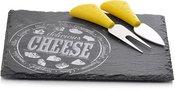 Sūrio pjaustymo įrankių rinkinys 3 dalių 21x16 cm 871125299361
