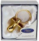Suvenyras Čiulptukas dėžutėje auksines spalvos 6277gn H:6 W:3 D:3 cm psb