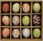 Suvenyras kiaušinis ornamentuotas keramikinis H 4 cm(12) 79853
