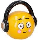 Taupyklė emocinis veidukas su ausinėmis 18x11x17,5 cm 871125206515