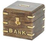 Taupyklė medinė BANKAS WB528C 10x11.5x11.5 cm SAVEX