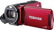 Toshiba Camileo X400 red