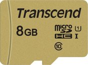 TRANSCEND GOLD 500S MICROSD W/ADP (V30) R95/W60 8GB