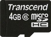 Transcend 4GB microSD atminties kortelė