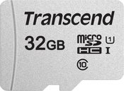 TRANSCEND 32GB UHS-I U1 SILVER MICROSD W/O ADAP
