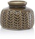 Vaza keramikinė ruda HP15134S 13.5X13.5X10 SAVEX